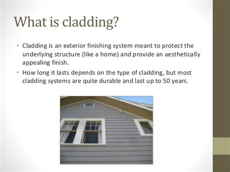7 types of cladding 7 types of cladding