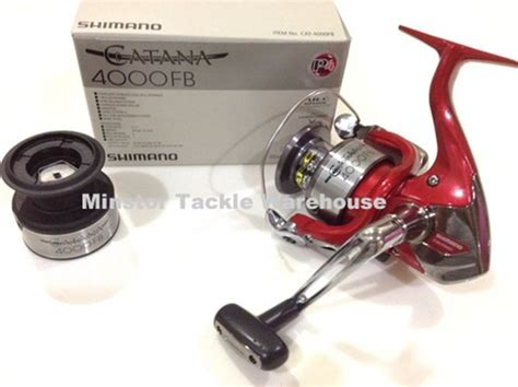 Reel Pancing Spinning 10 Bearing Aluminium Fb 4000 shimano catana 4000fb spinning reel with spare spool ebay