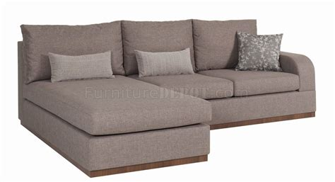 cream sectional sofa bronze cream fabric contemporary elegant sectional sofa