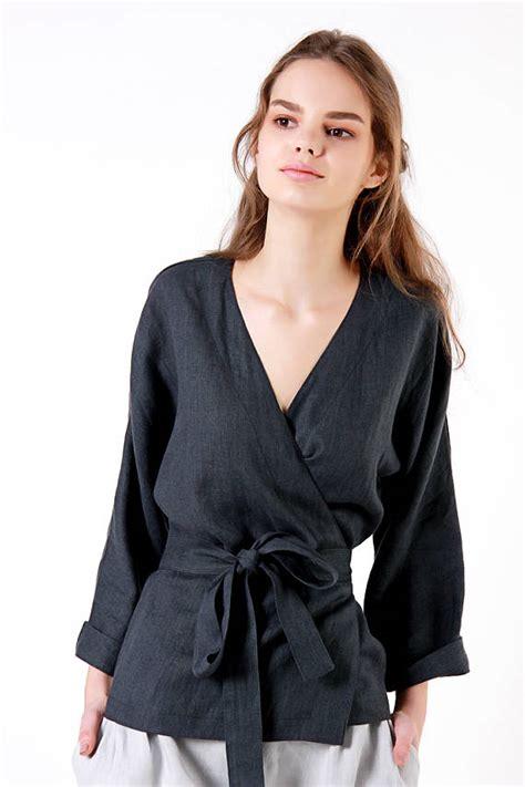 Atasan Wanita Blouse Kimono Top kimono wrap wardrobe mag
