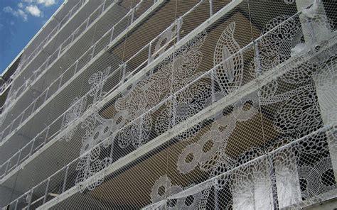 mesh wire graz unesco city  design