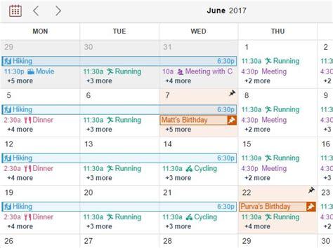 jquery calendar plugin html templates clndrjs