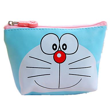 Doraemon Coin Purse Blue coin purse gift cartoontrendy baby mini bag