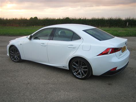 lexus is 300h f sport auto road test report and review