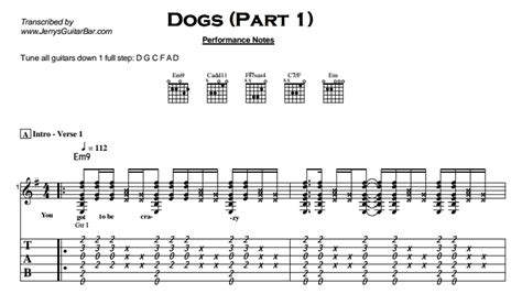 pink floyd dogs lyrics pink floyd dogs jerry s guitar bar