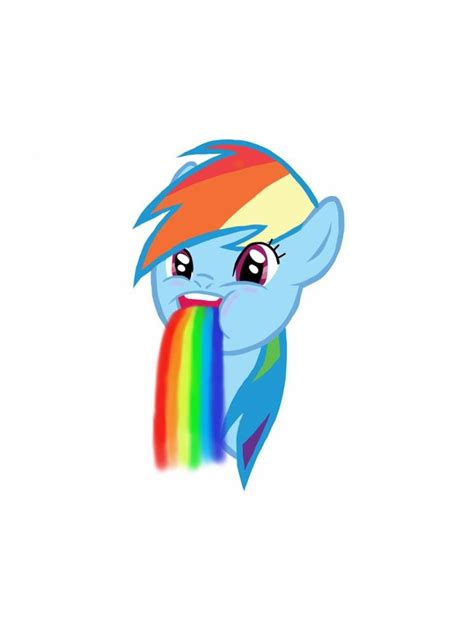 Meme Puking Rainbow - rainbow dash puking rainbow meme by 13lue1ce on deviantart