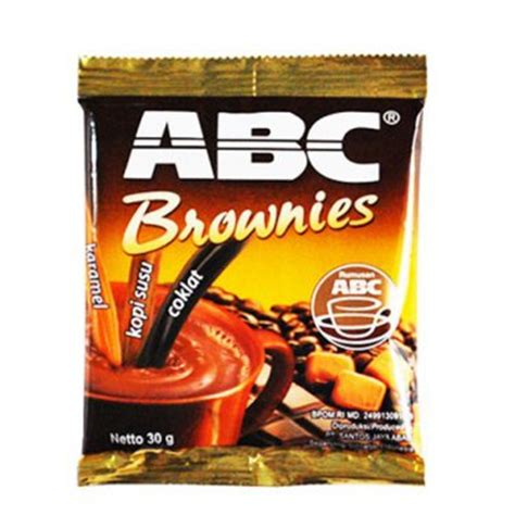 Abc Coffe Bag kopi abc brownies instan coffee 900 gram 1 bag contain 30 ct 30 gr