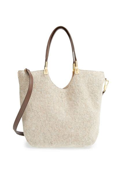 Tas Tote Personal wool and leather tote giftsforher personal style discover more best ideas about