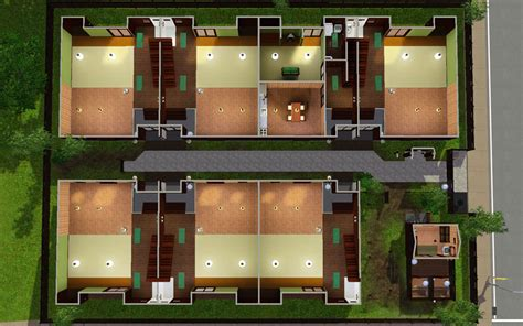 Japanese Style Apartment In America Mod The Sims Japanese Style Apartment
