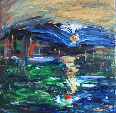 laguna paintings for sale for sale modern paintings laguna orange