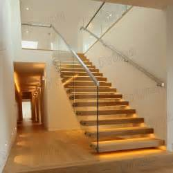 Pre Fab Stairs by Prefabricated Floating Stairs With Laminated Glass Step