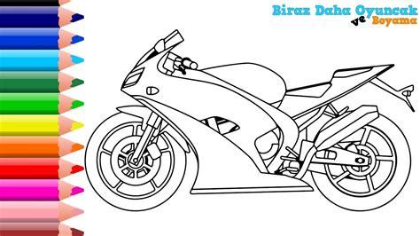 motosiklet boyama en guezel boyama videolari boyarken