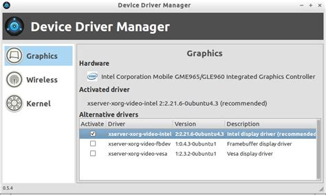 tutorial linux device driver linux mint device driver manager an alternative to ubuntu