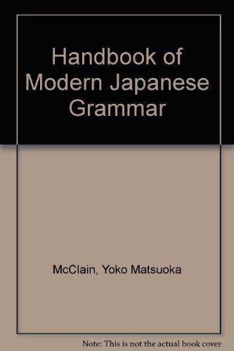 Handbook Of Modern ebook handbook of modern japanese grammar and japanese edition free pdf
