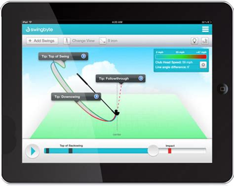 swingbyte pro swings swingbyte 2 golf swing trainer at intheholegolf com