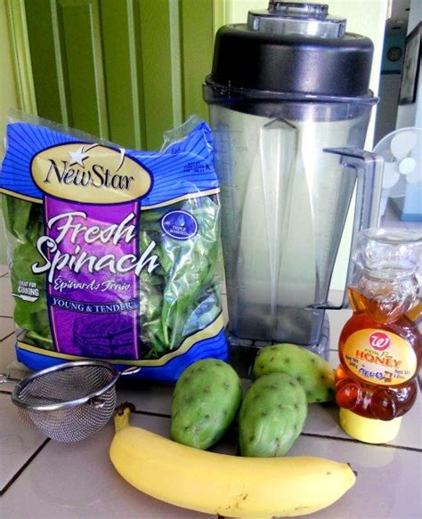 Detox Cactus Smoothie by Pears Smoothie And Pear Smoothie On