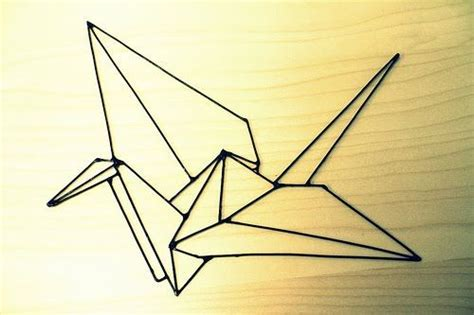 Origami Crane Outline - 31 best images about origami on discover best
