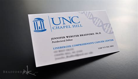 Unc Business Card Template by Unc Business Cards Pattern Business Card Ideas
