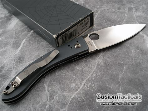 lum knives spyderco lum folder c65 blp knife reviews