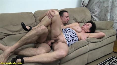 Hairy 86 Years Old Granny Gets Rough Fucked By Her Young