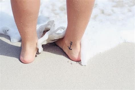 inside ankle tattoo best 25 cross anchor tattoos ideas on anchor