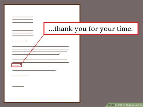 do i sign my cover letter the best ways to sign a letter wikihow