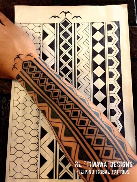 modern tribal tattoo designs 45 best philippine ethnic stuff images on