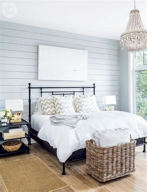 shiplap bedroom shiplap bedroom wall design ideas