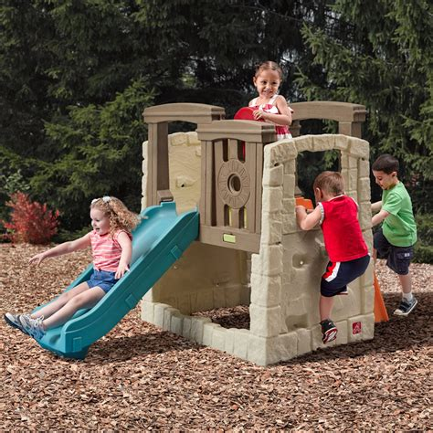step2 naturally playful climber and swing naturally playful woodland climber kids climber step2