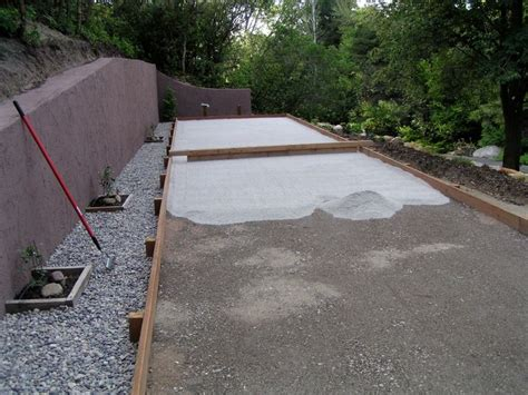 build a bocce court in backyard best 20 bocce court ideas on pinterest bocce ball court