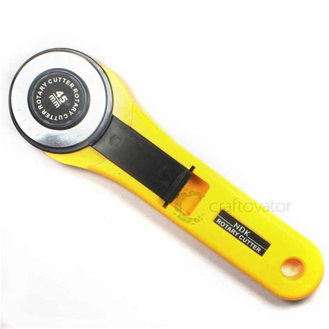 45mm rotary cutter premium quilters sewing fabric craft
