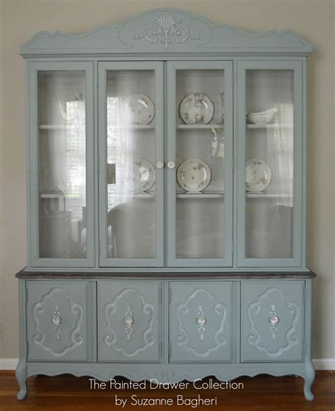 Vintage China Cabinets by Hometalk Vintage Bassett China Cabinet Gets A New