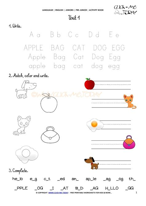 free printable english worksheets beginners free printable beginner esl pre junior worksheet 1 alphabet