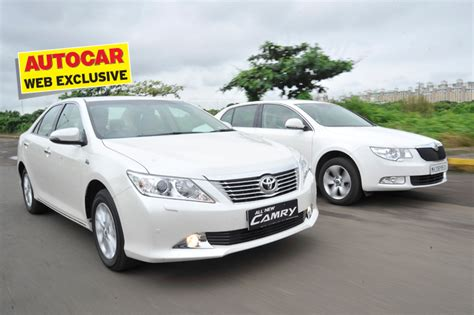 Used Toyota Camry India Toyota Camry Vs Skoda Superb Feature Autocar India