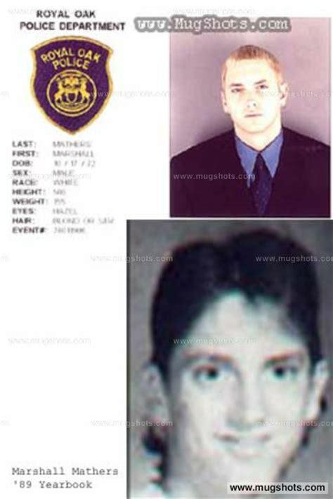 Eminem Criminal Record Eminem Mugshot Eminem Arrest