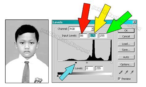 cara membuat foto hitam putih di photoshop oghie