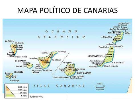 islas canarias y africa mapa la diversidad de espa 241 a