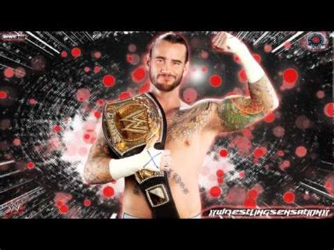 cm punk song cm punk 3rd wwe theme song quot cult of personality