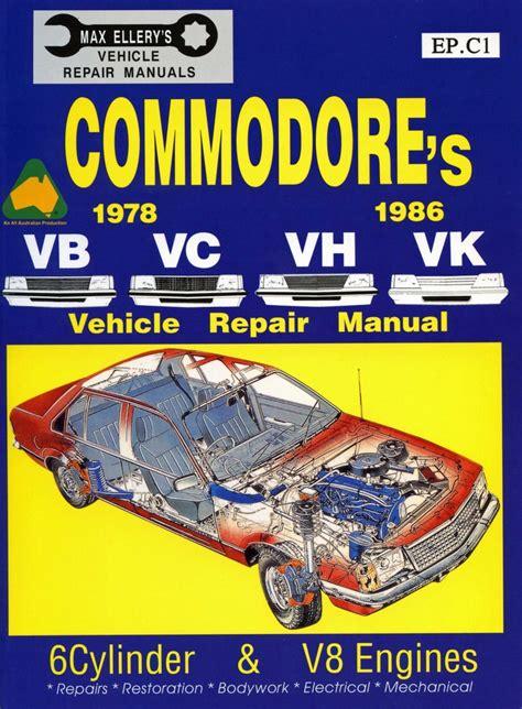 holden commodore vb vc vh vk workshop repair manual book