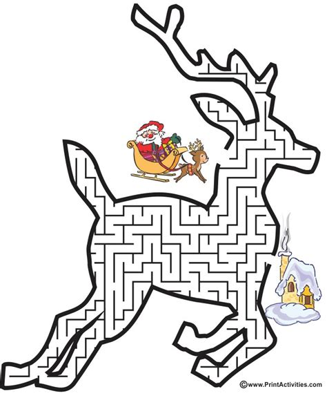 christmas tree maze free coloring pages for kids drawn maze christmas pencil and in color drawn maze