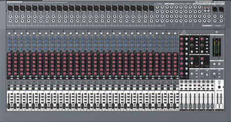 Daftar Mixer Behringer 32 Channel Behringer Sx3282 Ultra Low Noise 32 Input 8 Studio