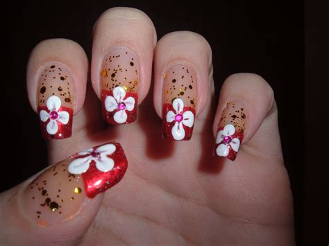 design flower for nail flower nail art designs acrylic nail designs