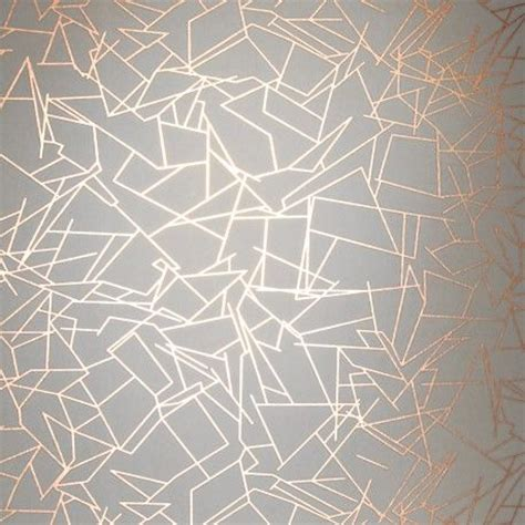 rose gold pattern wallpaper feature wall erica wakerly angles copper wallpaper rose
