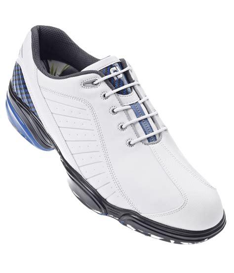 footjoy sports golf shoes footjoy mens sport golf shoes white blue 2012 golfonline