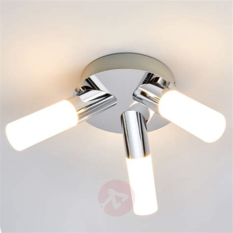Led Bathroom Ceiling Lights B Q Integralbook 3 Light Benaja Led Bathroom Ceiling L Lights Co Uk