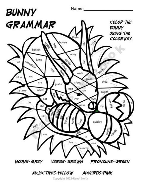 coloring pages for verbs parts of speech coloring page nouns verbs adjectives