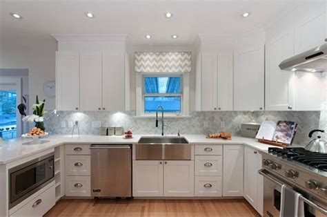 Property Brothers Kitchen Designs Kitchen Grey Backsplash White Cabinets Stainless Pinteres