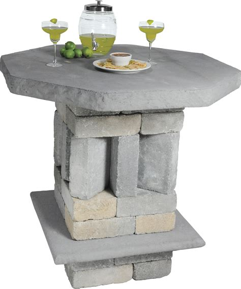 Patio Table Kit Ideal Patio And Pub Table Kit Station Landscape
