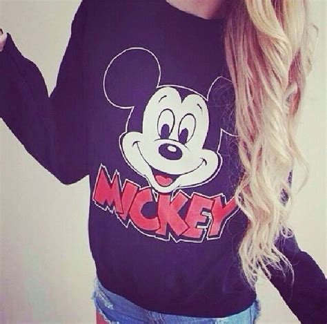 Lq Sweater Mickey By Girly Fashion sweater black sweater hair mickey mouse style