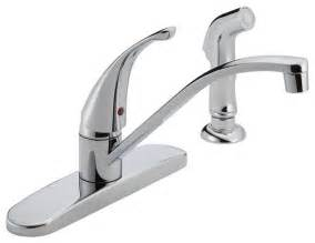 modern kitchen faucet delta single handle kitchen faucet p188500lf modern kitchen faucets by showerdoordirect